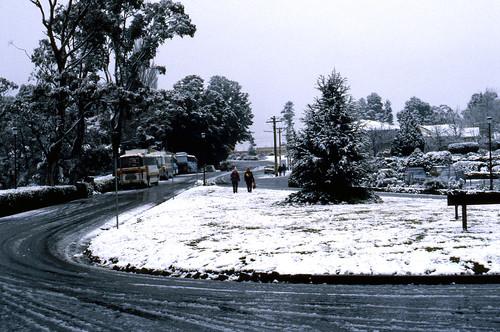 Echo Point Under Snow, July 1987