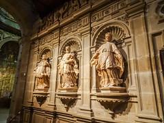 esculturas del trascoro interior Concatedral de Santa Maria de la Redonda Logroño La Rioja 02 (Rafael Gomez - http://micamara.es) Tags: españa logroño esp larioja concatedral santa del de la maria interior esculturas rioja redonda trascoro