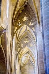 boveda nave lateral interior Concatedral de Santa Maria de la Redonda Logroño La Rioja 01 (Rafael Gomez - http://micamara.es) Tags: españa logroño esp larioja concatedral santa de la maria interior nave rioja redonda lateral boveda