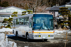 NISSAN DIESEL Space Runner_1 (hans-johnson) Tags: fuji lakeyamanaka fujisan yamanashi snow winter asia white canon eos 5d eos5d vsco village 日本 富士 富士山 landscape mtfuji 5d3 hdr light shine dream nostalgic fancy nice life natural nature beautiful color day daylight clean wild travel bus blue japan japon nihon nippon asian japanese auto transit transport transportation public publictransport traffic dslr trip tour 5diii fullframe capture colorful photography lightroom publictransportation cold sunny sunshine sun bright バス nissan subaru diesel classic modern 70200mm green