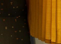 Colors and stripes on the train (juliensart) Tags: kleur couleur color colour em5markii em5 mark2 micro four thirds juliensart belgium vlaanderen flanders 43rds leica vario summilux farbe strepen lijnen stripes gordijn trein train curtain folds nmbs sun light zon licht photo foto photography fotografie karel julien cole mft