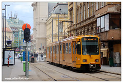 Tram Budapest - 2019-08 (olherfoto) Tags: tram tramcar tramway strasenbahn villamos budapest ungarn hungary bkv hannover