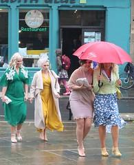 Scotland Colours - 1 Wedding and No Funeral (Pushapoze (MASA)) Tags: uk scotland orkney kirkwall wedding kilt tartan guests rain pluie marriage invites ecosse parapluies umbrella