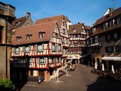 un classique: Fer Rouge (Colmar, F) (pietro68bleu) Tags: alsace hautrhin restaurant gastronomie maisonsàcolombages