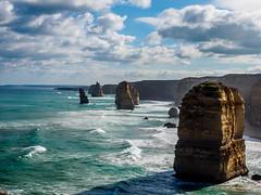 Port Campbell National Park 16 (deepaqua) Tags: horizon victoria ocean greatoceanroad australia seascape twelveapostles landscape portcampbellnationalpark southernocean