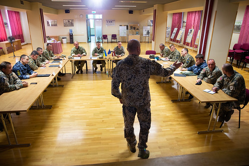 Latvijā notiek Ukrainas Bruņoto spēku augstāko instruktoru seminārs