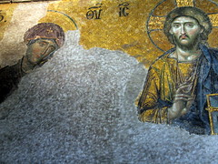 Deësis Mosaic Hagia Sophia (JChibz) Tags: turkey istanbul europe streetphotography travelphotography landmarks outdoors architecture urban mosque cathedral religious culture art hagiasophia ayasofya mosaics deësis