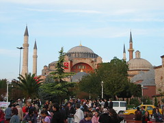 Hagia Sophia (Church of the Holy Wisdom) (JChibz) Tags: turkey stanbul europe streetphotography travelphotography landmarks outdoors architecture urban mosque cathedral religious culture hagiasophia ayasofya