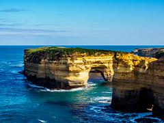 Port Campbell National Park 7 (deepaqua) Tags: horizon victoria arch ocean greatoceanroad australia lochardgorge seascape landscape portcampbellnationalpark southernocean