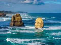Port Campbell National Park 17 (deepaqua) Tags: horizon victoria ocean greatoceanroad australia seascape twelveapostles landscape portcampbellnationalpark southernocean