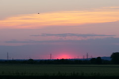 Here Comes The Sun (ivlys) Tags: biebesheim rhein rhine fluss river sonnenaufgang sunrise landschaft landscape himmel sky sonne sun natur nature ivlys