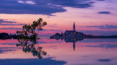 (Martinez Nico) Tags: tourism reflectingpool brilliance bright water sky reflection clouds view brilliant pink orange tower sunset landmark pool dream vacation sea landscape reflections nature beautiful travel romantic outdoor resort evening luxury exposure blue paradise relaxation silhouette red long yellow holidays purple holiday dramatic dusk colorful futuristic light panorama skyline infinity rovinj croatia