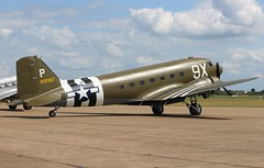 N150D / 315087 Douglas C-47B (R.K.C. Photography) Tags: n150d douglas c47 c47b 315087 ddaysquadron daksovernormandy american dc3 dakota skytrain warbird aircraft aviation classic usaaf duxford iwm cambridgeshire england unitedkingdom uk canoneos100d