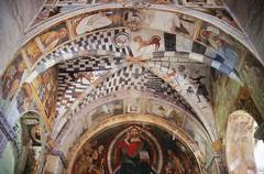 t9601151F (m-klueber.de) Tags: t9601151f alpen südalpen schweiz switzerland svizzera ticino tessin mk1996tessin tessiner t9601151 19960526 mk1996tessin4 biasca sopraceneri basilica basilika ss santi pietro e paolo romanik fresken 1996 mkbildkatalog