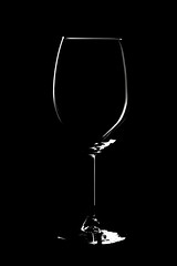 Wine glass (LCPJ photography) Tags: light black photography highlights transparent product lowkeylighting