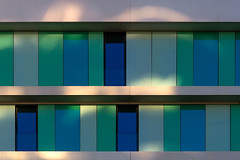 Light play (jefvandenhoute) Tags: belgium belgië antwerp antwerpen light lines shapes colors geometric