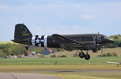 N62CC / 330647 Douglas C-47A (R.K.C. Photography) Tags: n62cc 330647 douglas c47a c47 dc3 dakota skytrain ddaysquadron daksovernormandy aircraft aviation warbird classic usaaf duxford iwm cambridgeshire england unitedkingdom uk virginiaann