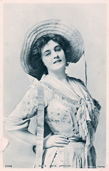 Miss Evie Greene Prior to 1905 (pepandtim) Tags: postcard old early nostalgia nostalgic miss evie greene rotophot 24081905 1905 27meg65 isaacs st peters road mile end london esther marie edith elizabeth 1875 1917 actress singer edwardian musical comedies broadway dolores florodora lyric theatre 1899 cast album 1900 richard nephew robin hood hampshire cecil walter bacon battle east sussex artist illustrator signed cwb deco tannery 1926 advertising agency 1929 1932 1935 transport raf ministry information radio times 1943 christmas edition irene proctor 1992 thiele