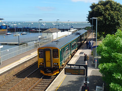 150207 Starcross (2) (Marky7890) Tags: gwr 150207 class150 sprinter 2f41 starcross railway devon rivieraline train