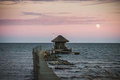 EstonianWay #48 (VisitEstonia) Tags: estonianway48 visitestonia visit saaremaa sea balticsea moonrise