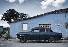 vinales car (AlistairKiwi) Tags: vinales pinardelrio cuba car travel olympus omd landscape architecture city
