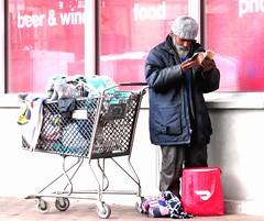 Tempe, Arizona (thomasgorman1) Tags: street streetphotos streetshots candid man homeless cart public city urban arizona tempe