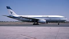EP-IBV SHJ ex (Gert-Jan Vis) Tags: epibv airbus a300 iranair sjarjah kodachrome 187