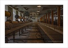 Bobbing & weaving (prendergasttony) Tags: architecture border digital d7200 england historical history lancashire manufacture nikon nationaltrust tonyprendergast weaving shed mule spinning cotton industry