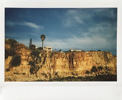 House on the Hill. (miroir.photographie) Tags: instantphoto analog argentique istillshootfilm portimão algarve portugal instaxwide rf70