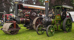 L2019_1304 - Folwer and Aveling Porter Traction Engines (www.jhluxton.com - John H. Luxton Photography) Tags: 2019 abergavenny abergavennysteamveteranandvintagerally abergavennysteamveteranandvintagerally2019 cymru gwent johnhluxtonphotography leica leicam leicam262 leicamtyp262 monmouthshire wales yfenni wwwjhluxtoncom unitedkingdom fowler traction engine fowlertractionengine avelingportertractionengine avelingporter baileypark