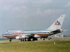 747SP (Gerry Rudman) Tags: heathrow london american airlines n601aa 27l twa n57202