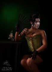 7 Deadly Sins by SpirosK and Ailiroy: Envy (SpirosK photography) Tags: sevendeadlysins 7deadlysins portrait corset lowkey studio spiroskphotography ailiroy concept conceptual beautiful nikon mask toxic envy jealousy