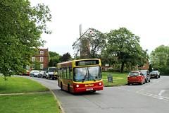 Red Rose Travel Y116 HWB 0928hrs Marsh Gibbon to Aylesbury 310519 (return2layerroad) Tags: redrosetravel marshgibbon aylesbury quainton dennisdartslf alexander y116hwb buckinghamshire