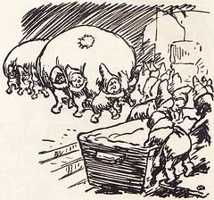 Die fidele Kommode / Seite 149 (micky the pixel) Tags: illustration buch book dwarf humor bakery kabouter livre fairytales bäckerei märchen zwerg heinzelmännchen augustkopisch hschweitzer humordichtung fikentscherverlag diefidelekommode sage kobold wichtel dieheinzelmännchenzuköln
