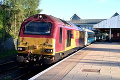 67016 - Wrexham General (Mark_Edwards_47769) Tags: class67 67016 db ews wrexhamgeneral transportforwales wag