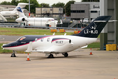 LX-WJD (GH@BHD) Tags: lxwjd hondaaircraftcompany ha420 hondajet flyinggroupluxembourg londonlutonairport ltn eggw lutonairport luton bizjet corporate executive aircraft aviation