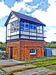 OLD SIGNAL BOX (Monkiiiey Henry Clark) Tags: old signal box