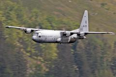 RNLAF Hercules C-130H, LFA17, 23/5/19 (TheSpur8) Tags: lfa17 heavy lowlevel aircraft date dutch hercules lakedistrict landlocked military anationality skarbinski c130h 2019 places transport