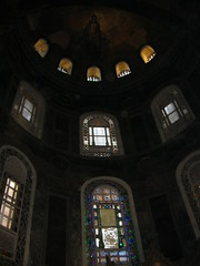 Virgin and Child Apse Mosaic (JChibz) Tags: turkey istanbul europe streetphotography travelphotography landmarks outdoors architecture urban mosque cathedral religious culture hagiasophia ayasofya