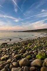 Pebbles Beach (~ Jessy S ~) Tags: beach plage sea mer ocean nikon d750 nikkor sky ciel blue bleu water scape paysage rochers rocks nikkor18105vr 18105