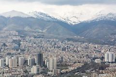 Montagnes (hubertguyon) Tags: iran perse persia asie asia moyen proche orient middle east téhéran tehran ville city