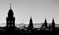 Compostela Skyline (Noel F.) Tags: santiago compostela catedral cathedral galiza galicia skyline noria fuji xe3 fujifilm voigtlander heliar 75 25 color panorama domingos bonaval