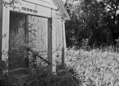 Abandoned Church #2 (PositiveAboutNegatives) Tags: leica slr leicaflexsl leicar leitz leicaflex 35mm 35mmelmarit film analog bw blackandwhitefilm foma fomapan fomapan100 abandoned empty deserted coolscan church houseofworship
