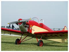 Druine D31 Turbulent  91-AHA (Aerofossile2012) Tags: druine d31 turbulent 91aha avion aircraft aviation meeting airshow meaux esbly 2018 jollyjumper