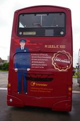 IMGP0063 (Steve Guess) Tags: morecambe lancashire england gb uk bus ribble centenary 100 transdev wright eclipse gemini heritage retro livery