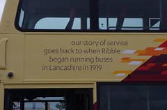 IMGP0058 (Steve Guess) Tags: morecambe lancashire england gb uk bus ribble centenary 100 transdev wright eclipse gemini heritage retro livery