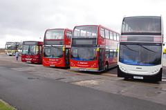 IMGP0055 (Steve Guess) Tags: morecambe lancashire england gb uk bus ribble centenary 100 stagecoach alexander dennis enviro 400 heritage retro livery