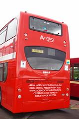 IMGP0066 (Steve Guess) Tags: morecambe lancashire england gb uk bus ribble centenary 100 arriva alexander dennis enviro 400 heritage retro livery