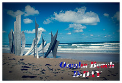 Omaha Beach (regis.muno) Tags: dday omahabeach nikond70 normandie france plage beach mer sea liberté liberty