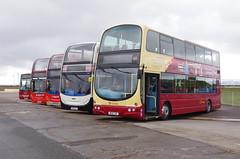 IMGP0056 (Steve Guess) Tags: morecambe lancashire england gb uk bus ribble centenary 100 stagecoach transdev wright eclipse gemini alexander dennis enviro 400 heritage retro livery